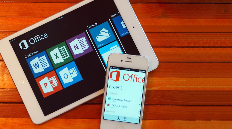 Microsoft Office pro Apple mají podporu iCloud