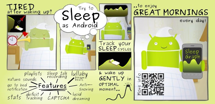 Sleep as Android: Monitorujeme spánek
