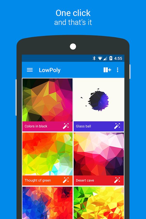 Zkrášlujeme Android #1 – Flat tapety