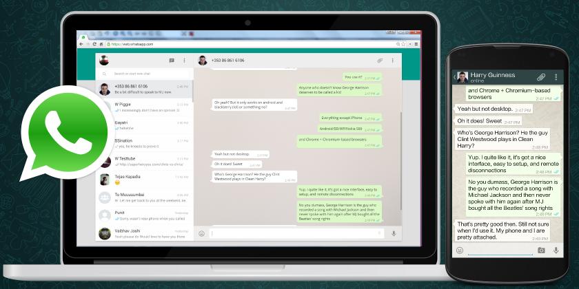 WhatsApp Web pro Operu a Firefox