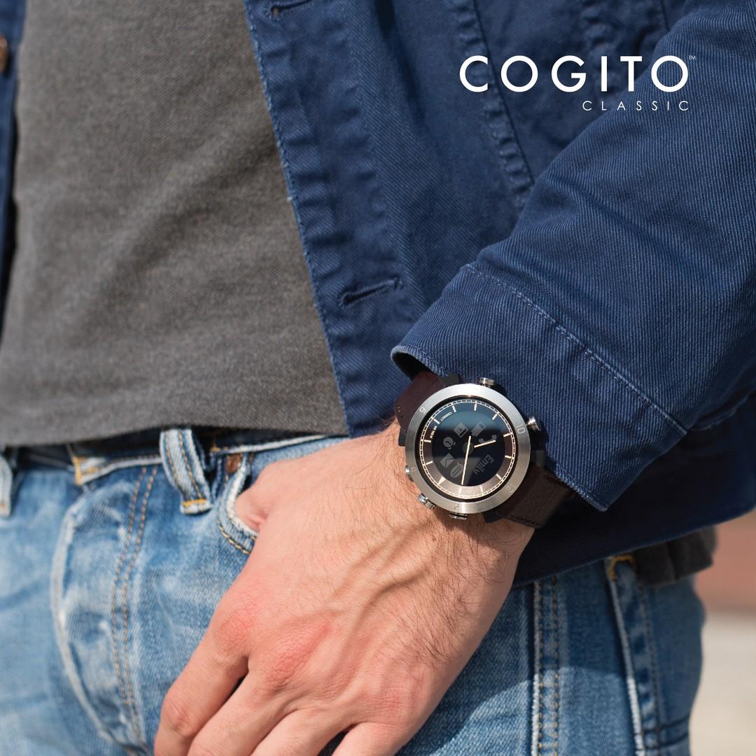 Cogito Smartwatch vydrží 6 až 9 měsíců