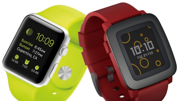Apple-Watch-vs-Pebble-Time
