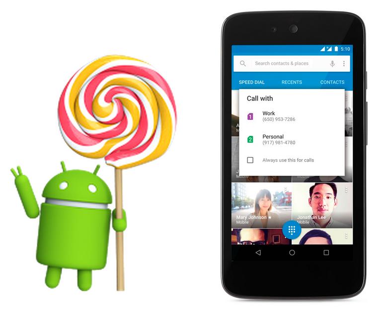 Google oficiálně představil Android 5.1 Lollipop