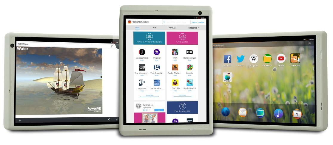 Firefox tablet s MIPS procesorem – určeno pro rozvojové země