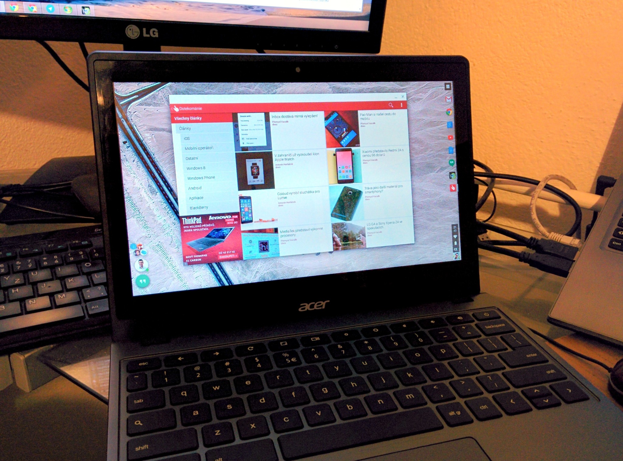 Kdokoliv může portovat Android aplikace pro Chrome OS