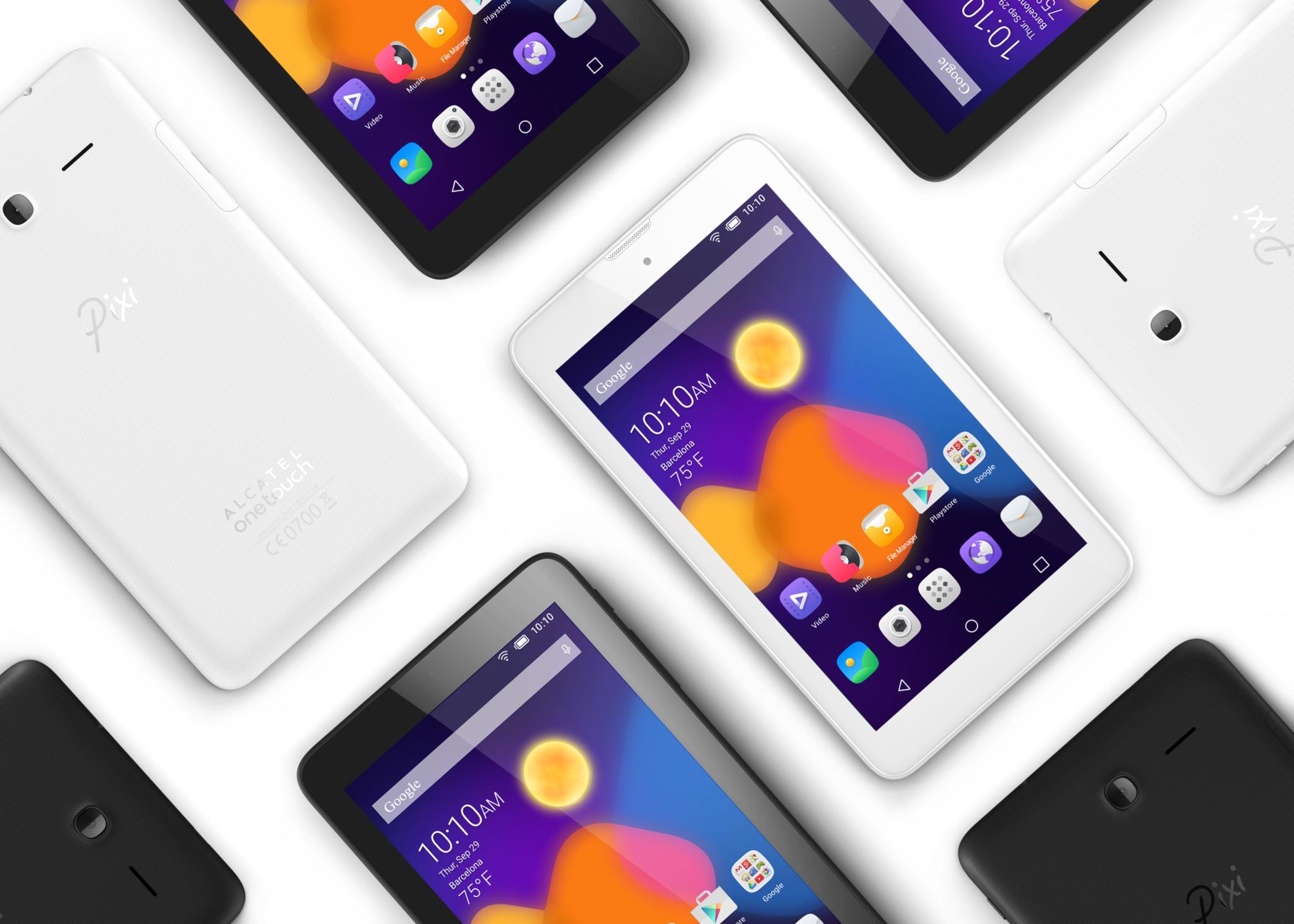 Alcatel Pixi 3 – několik tabletů a smartphonů