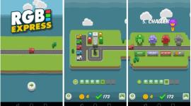 RGB Express – menší logická hra s barvami