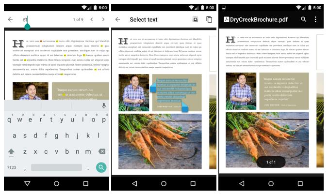 Nová aplikace Google PDF Viewer