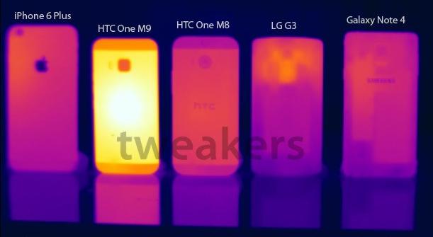 """HTC One M9 to umí pěkně """"rozpálit"""" [aktualizováno]"""