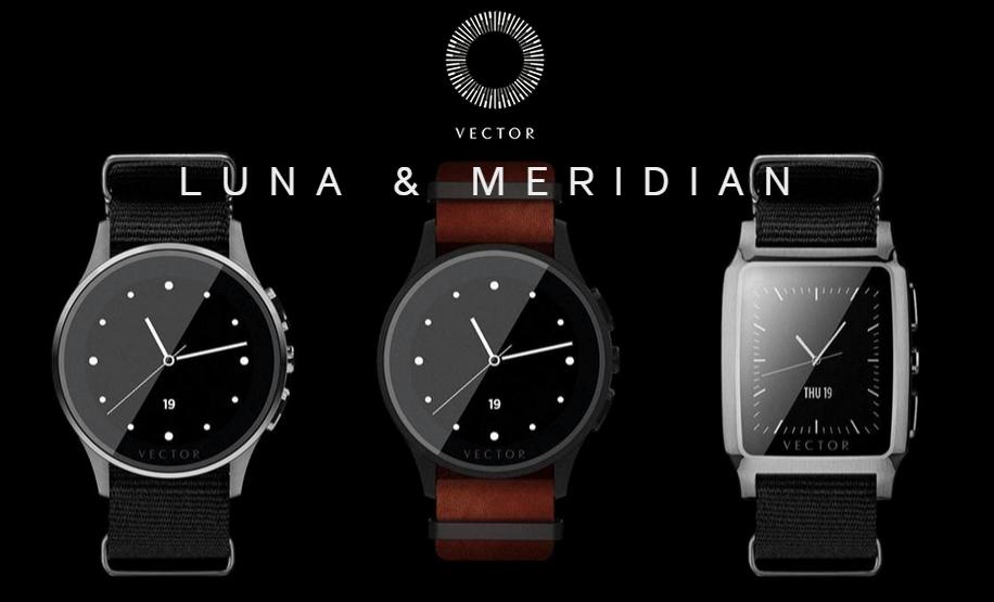 Vector Watch – hodinky s výdrží 30 dnů na jedno nabití
