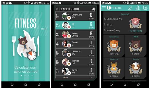 HTC uvolnilo sociální fitness aplikaci