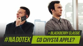 #NaDotek - Apple Watch + BlackBerry Classic