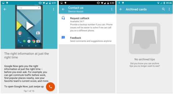Google aktualizoval svou aplikaci Device Assist