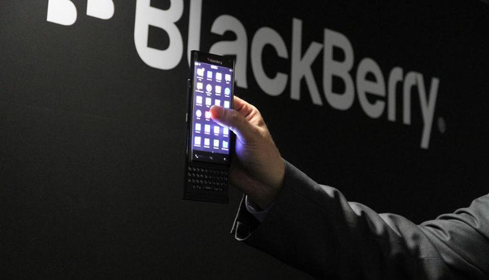 BlackBerry – zařízení se zahnutým displejem a novinka Leap
