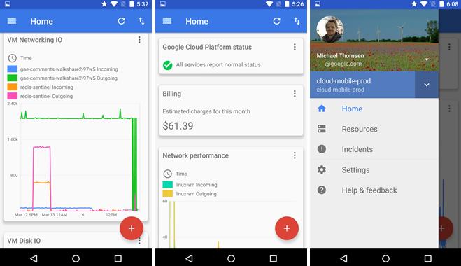 Google vypustil beta verzi Cloud Console do Obchodu Play