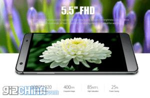elephone-p7000-display