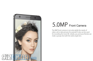 elephone-p7000-front-camera