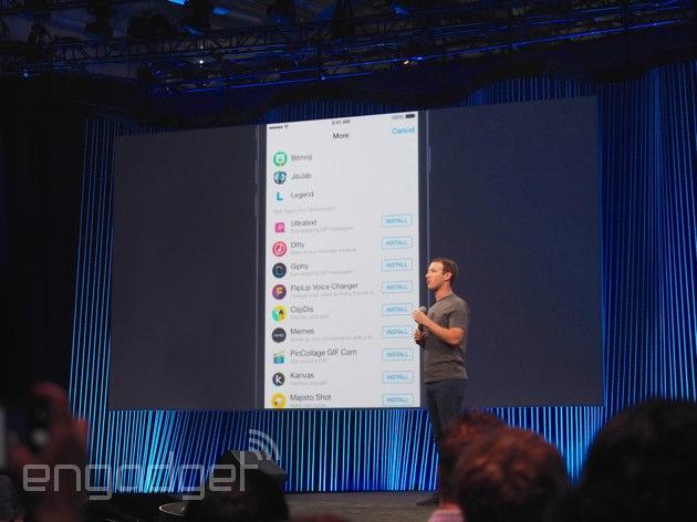 Facebook Messenger – aplikace třetích stran budou každodenním chlebem
