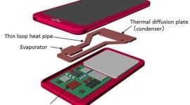 """Fujitsu představilo """"nový"""" způsob chlazení telefonů"""