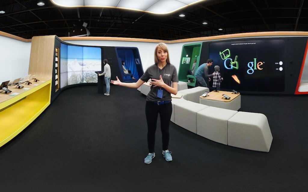 Navštivte kamenný Google Store z pohodlí domova