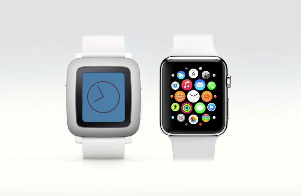 Představení Apple Watch posílilo kampaň Pebble Time