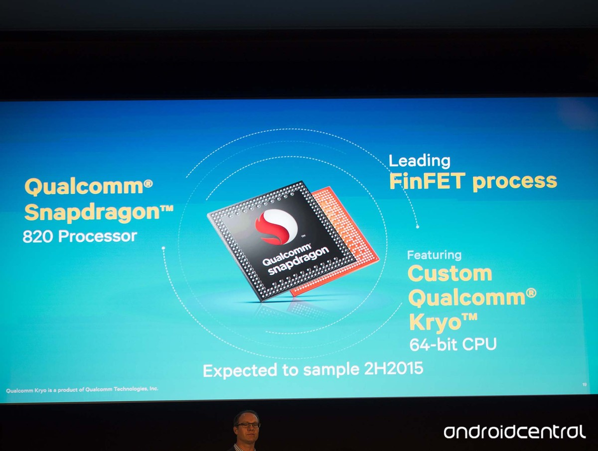 Qualcomm Snapdragon 820 a 3D čtečka otisků prstů