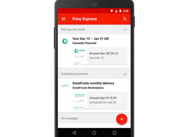 Placení účtů přímo z Gmailu nebo Inboxu možná na konci roku
