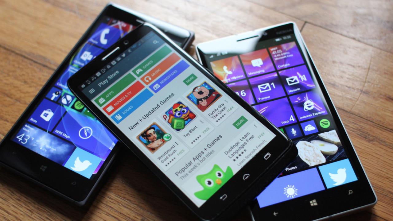 Androidí aplikace na Windows Phone – pokrok ve vývoji, realizace v nedohlednu