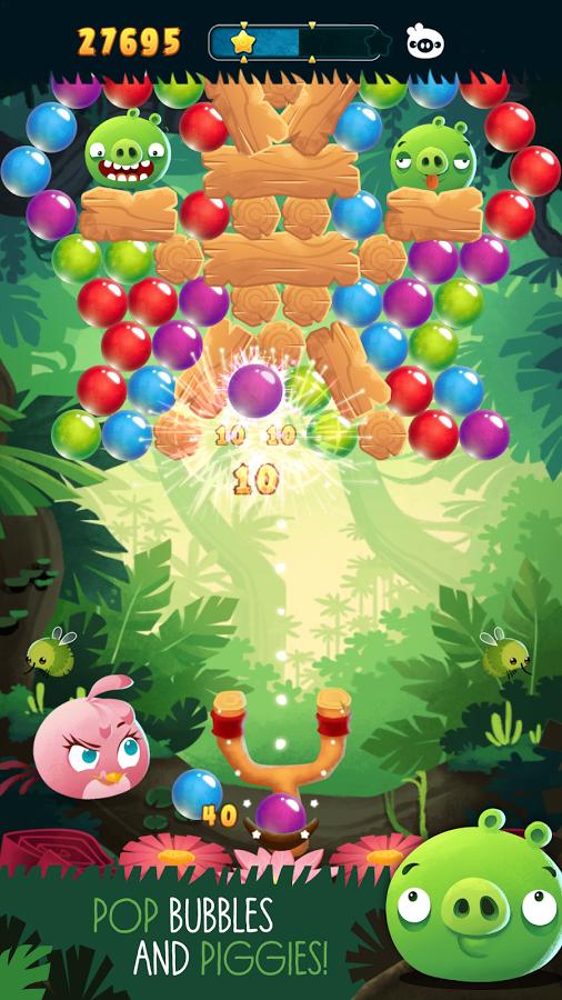 Nový díl Angry Birds Stella POP! přichází se zcela novým pojetím hry