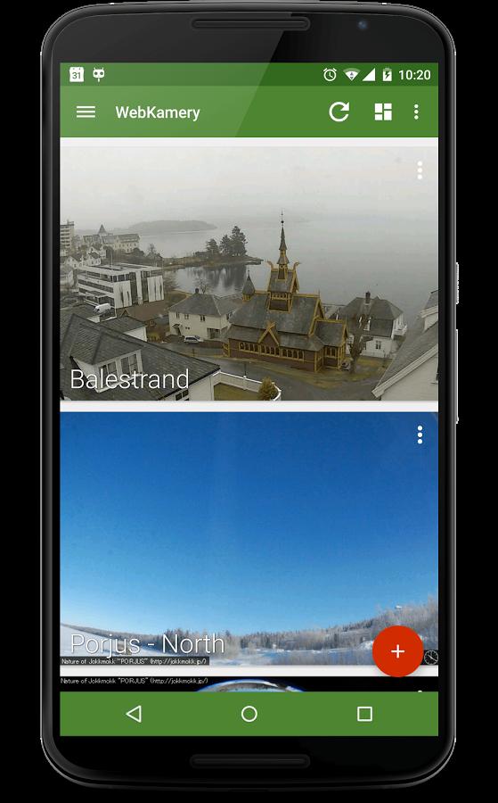 Česká aplikace Prohlížeč WebKamer prošla výraznou změnou