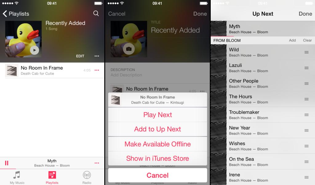 iOS 8.4 přinese nový hudební přehrávač