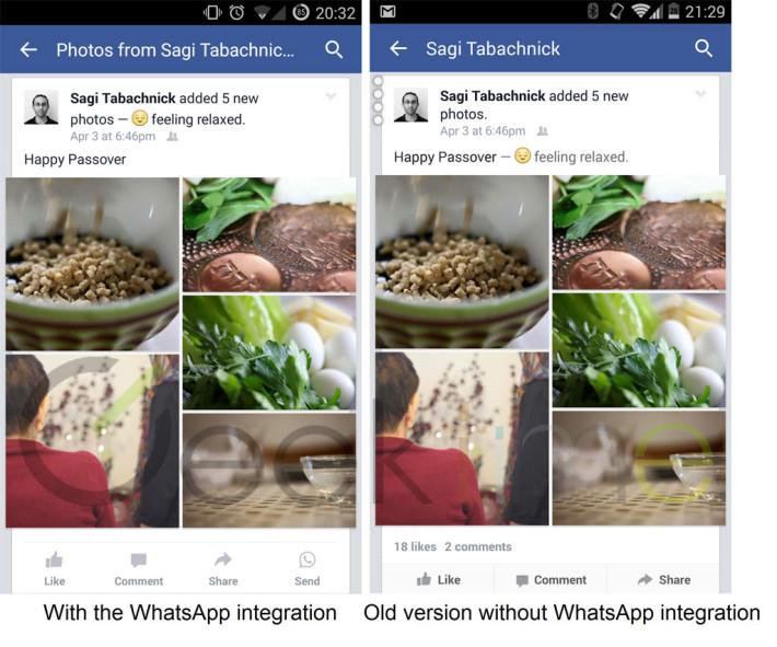 Facebook testuje integraci WhatsApp