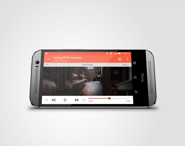HTC One M8s_PerLandscape_GunMetal