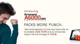 Lenovo A6000 Plus má větší RAM a úložiště