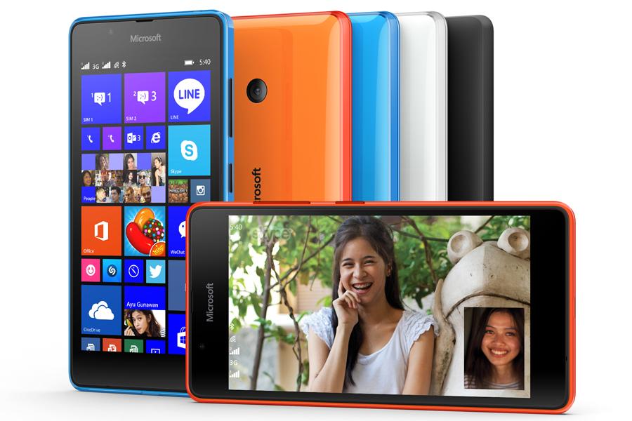 Microsoft Lumia 540 – levný základ s překvapivě dobrou výbavou představen