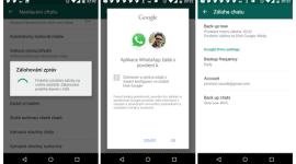 WhatsApp získává zálohování na Google Drive