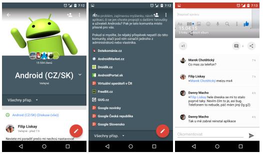 Google aktualizoval Google+, Chrome, Prezentace, Dokumenty, Tabulky, Obchod Play