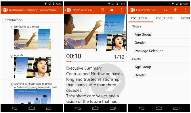 Office Remote for Android od Microsoftu