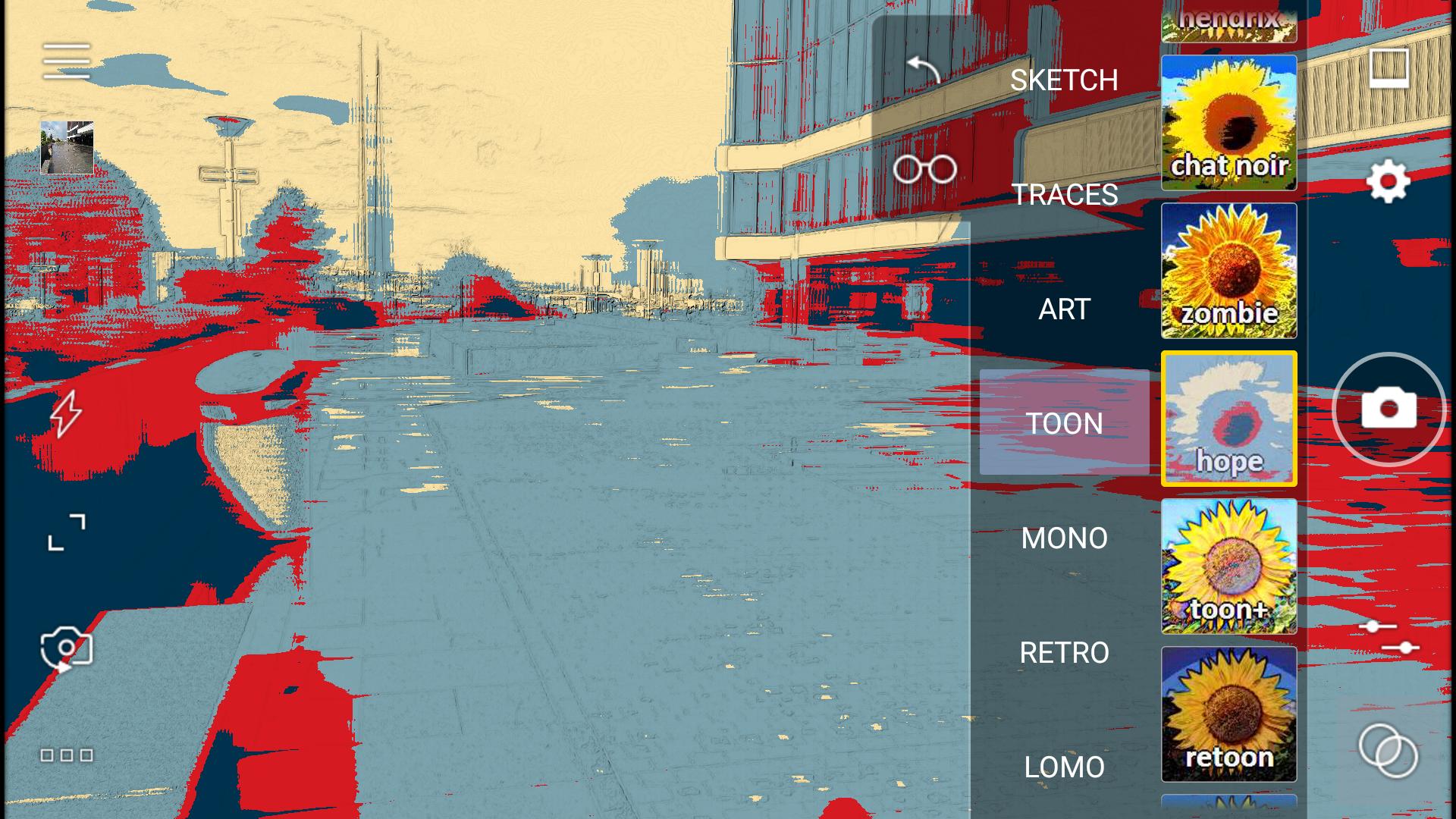 Cameringo – filtry a různá nastavení pro perfektní výsledek fotografie