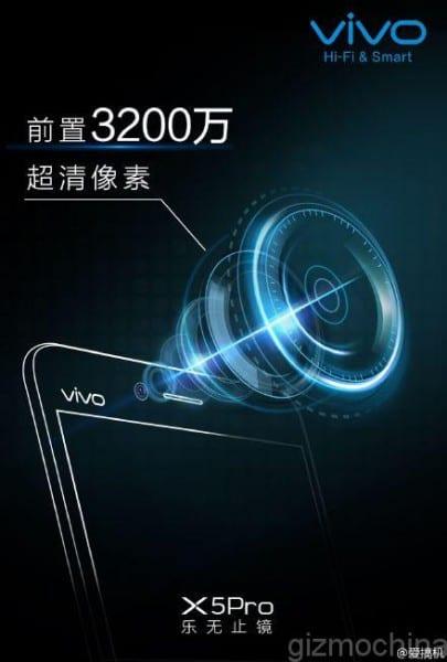 Vivo-X5Pro-32Mp-front-camera