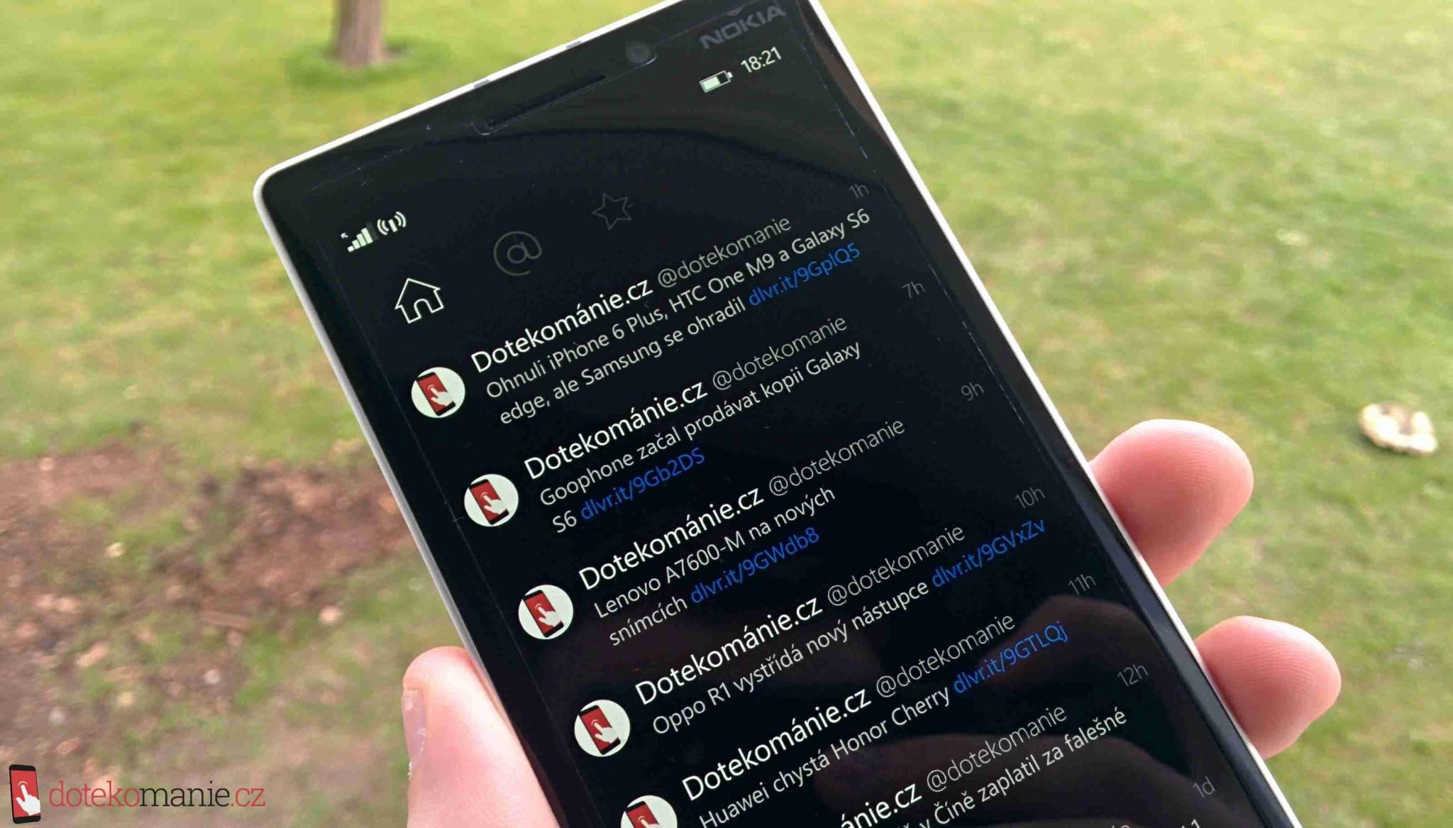 Za skvělý Twitter klient Aeries pro Windows Phone nyní dáte jen 50 Kč