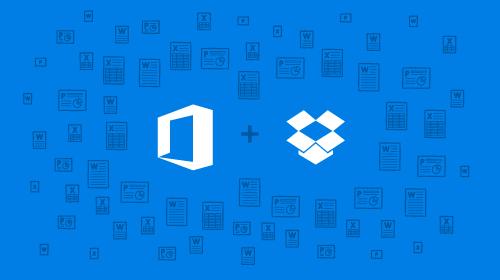 Office Online nově podporuje Dropbox