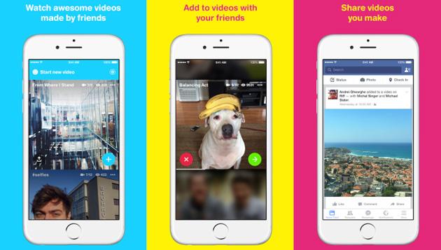 Facebook Riff – tvořte videa s pomocí svých přátel