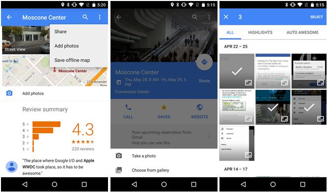 Google Mapy v9.8 – ladění starších funkcí a detailů