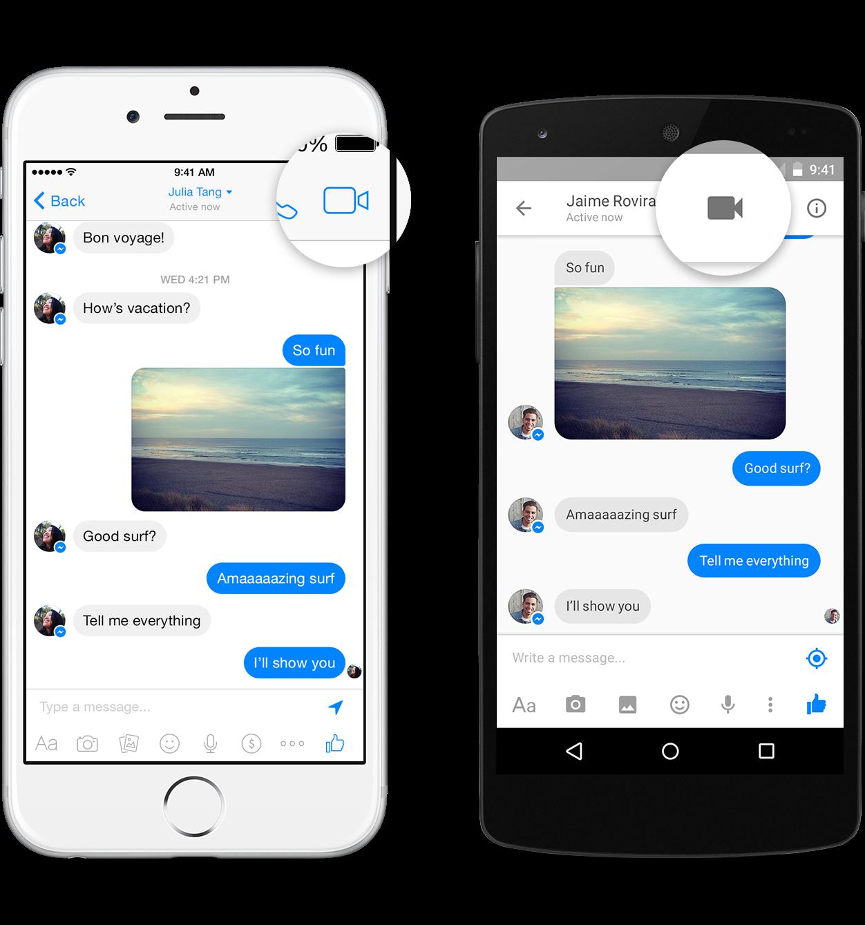 Facebook Messenger – žhavý update ve formě videohovorů