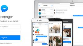 Facebook Messenger na samostatném webu