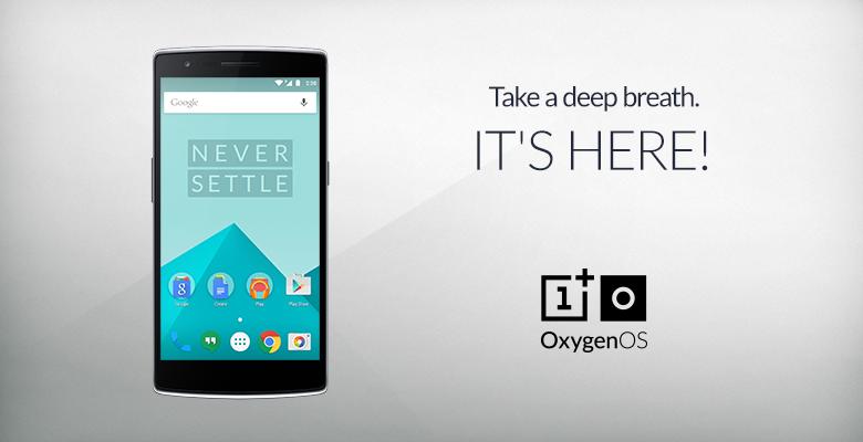OnePlus vydalo OxygenOS 1.0 pro model One