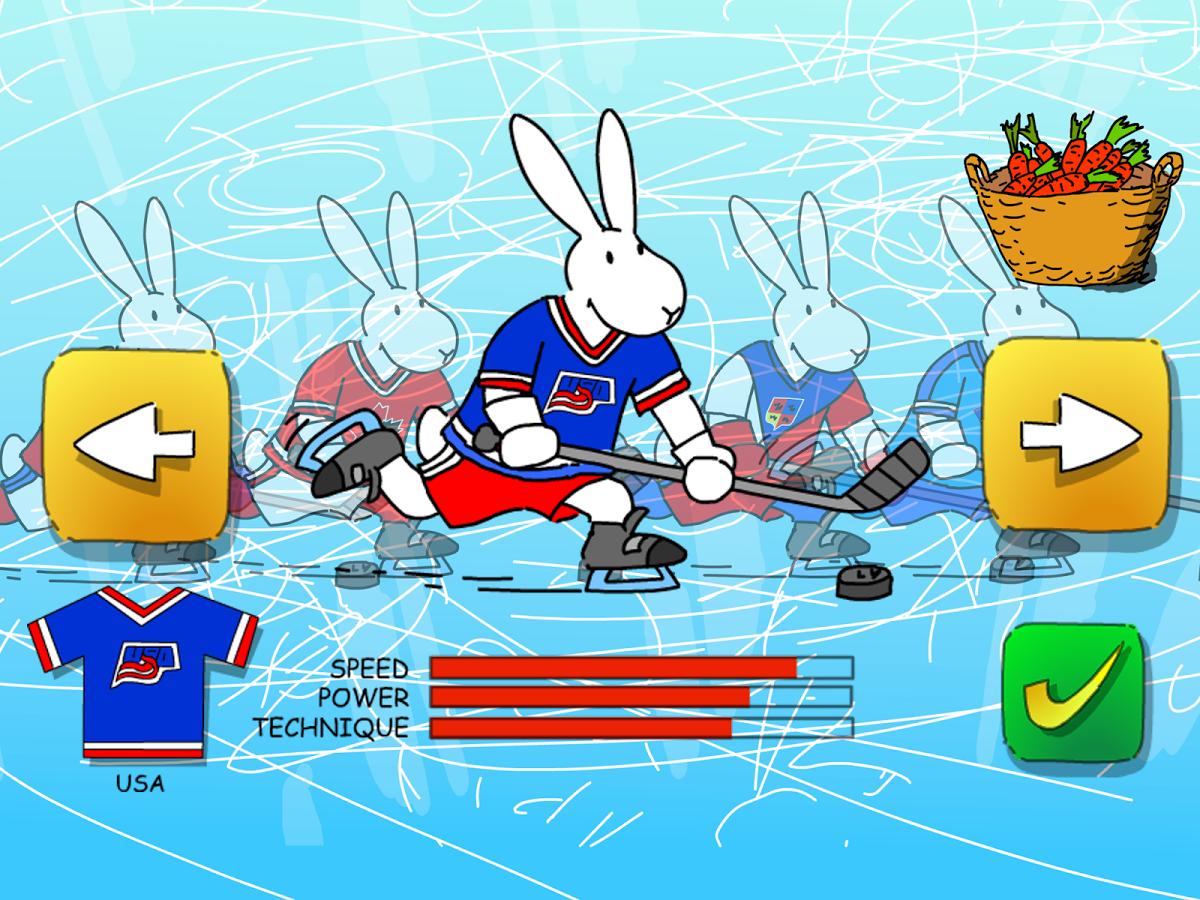 Nová hokejová hra králíků z klobouku Bob a Bobka