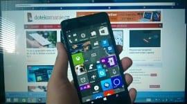 Nejnovější sestavení mobilních Windows 10 přináší změny na úvodní obrazovce