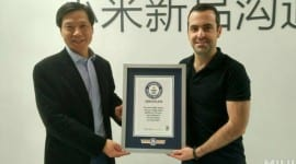 Xiaomi zapsáno do Guinessovy knihy rekordů